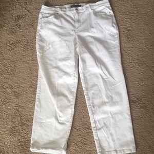 White Denim Jeans (Gloria Vanderbilt) Size 18W